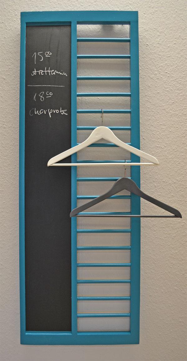 garderobe aus kinderbett selber machen ich designer. Black Bedroom Furniture Sets. Home Design Ideas